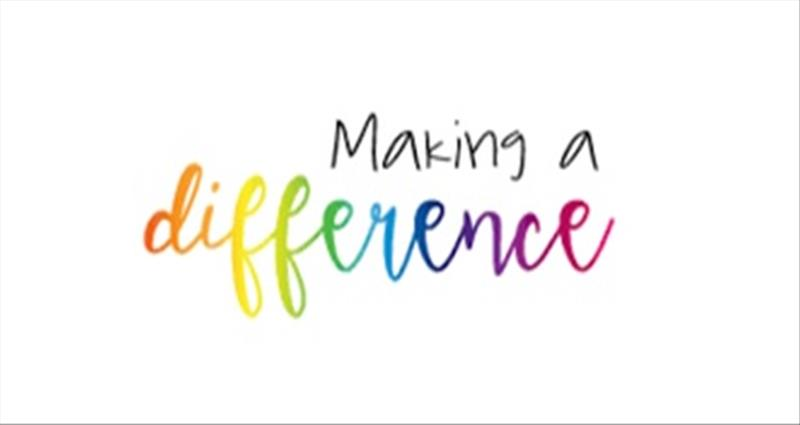 To Make a difference or ………..